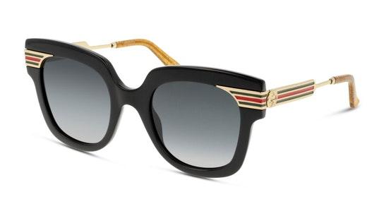 GG 0281S Women's Sunglasses Grey / Black