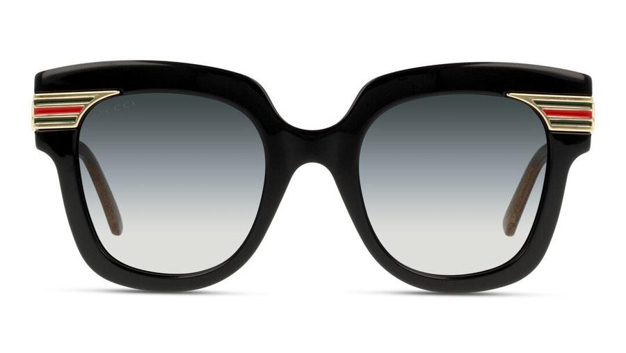 Gucci GG 0281S (001) Sunglasses Grey / Black