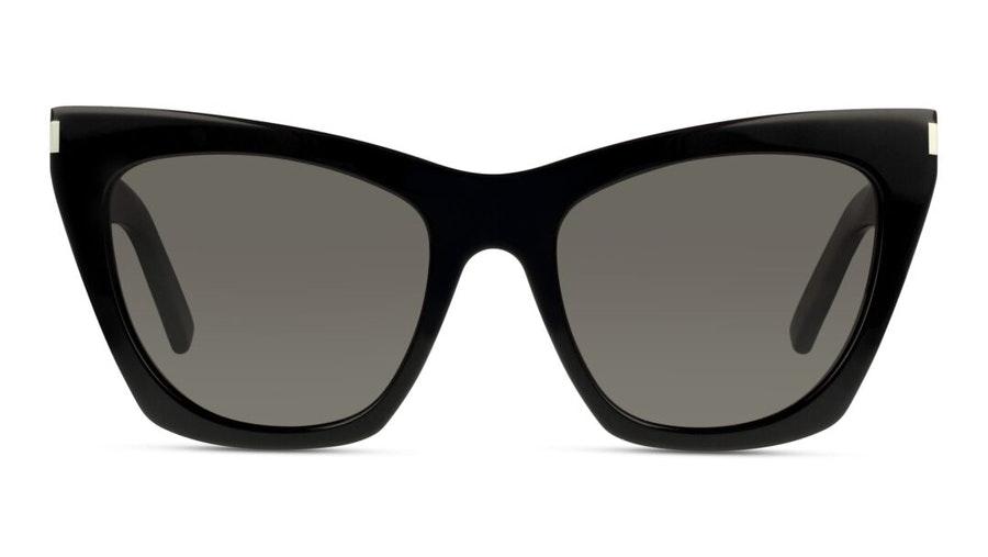 Saint Laurent Kate SL 214 (001) Sunglasses Grey / Black