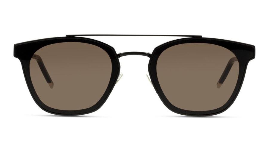 Saint Laurent Metal SL 28 (001) Sunglasses Grey / Black