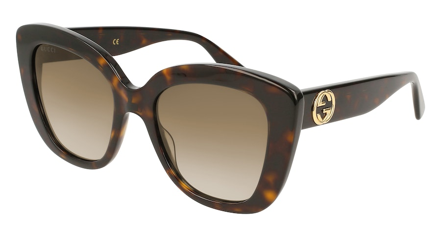 Gucci GG 0327S Women's Sunglasses Brown / Other