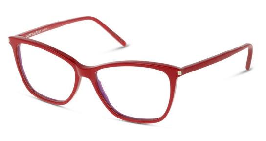 SL 259 Women's Glasses Transparent / Red