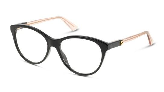 GG 0486O Women's Glasses Transparent / Black