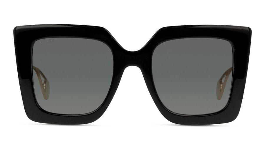 Gucci GG 0435S Women's Sunglasses Grey / Gold