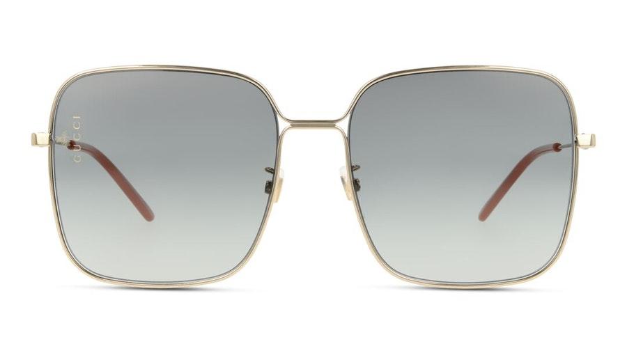 Gucci GG 0443S Women's Sunglasses Grey / Gold