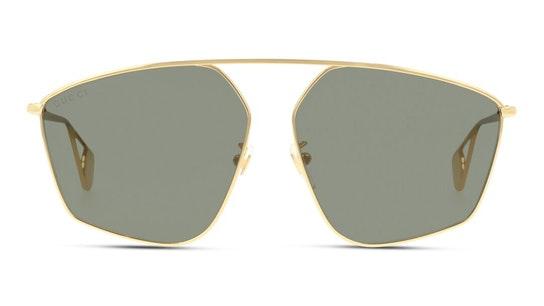 GG 0437SA Women's Sunglasses Grey / Gold