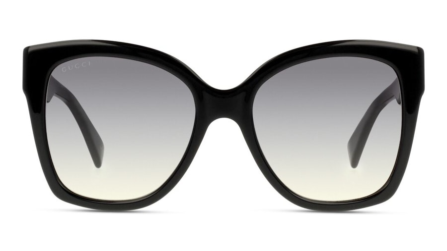 Gucci GG 0459S (001) Sunglasses Grey / Black