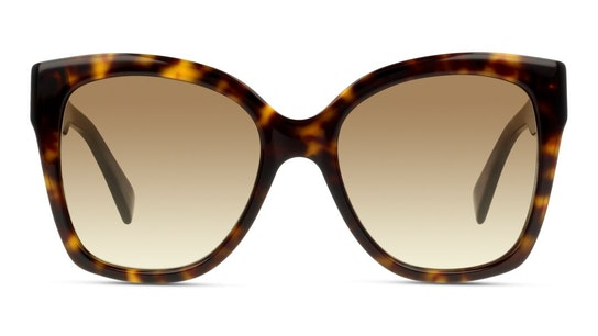 GG 0459S Women's Sunglasses Brown / Havana
