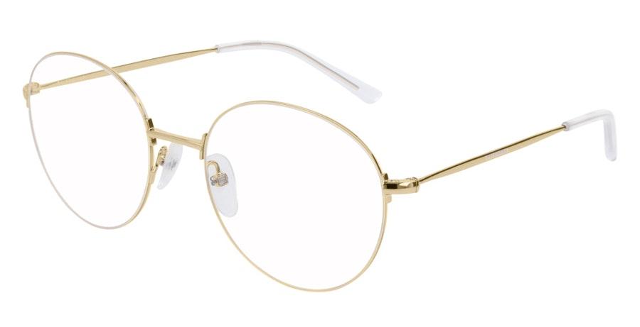 Balenciaga BB 0035O (003) Glasses Gold
