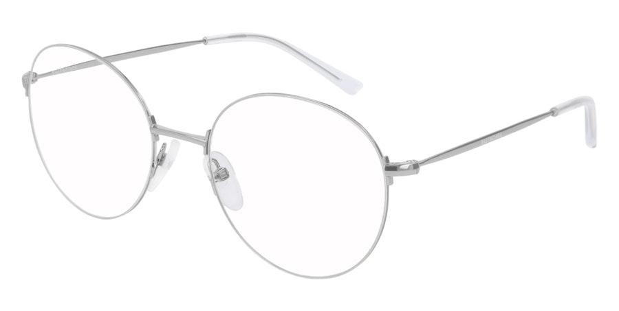 Balenciaga BB 0035O Men's Glasses Silver