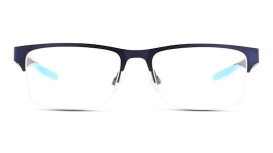 PU 0233O (Large) Men's Glasses Transparent / Navy