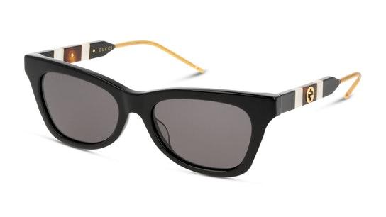 GG 0598S Women's Sunglasses Grey / Black