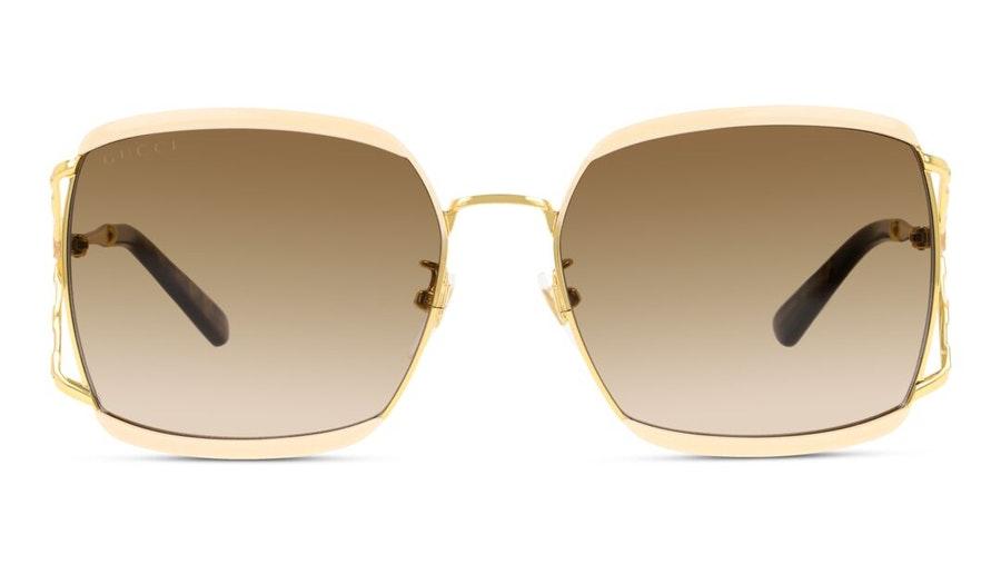 Gucci GG 0593SK Women's Sunglasses Brown / Beige