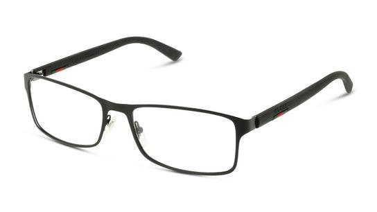 GG 0614O Men's Glasses Transparent / Black