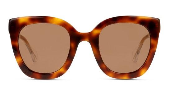 GG 0564S (002) Sunglasses Brown / Tortoise Shell