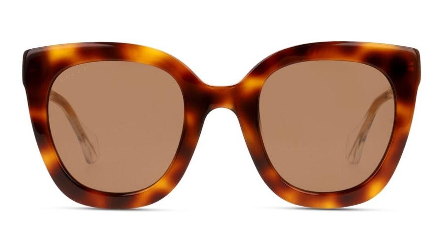 Gucci GG 0564S (002) Sunglasses Brown / Tortoise Shell