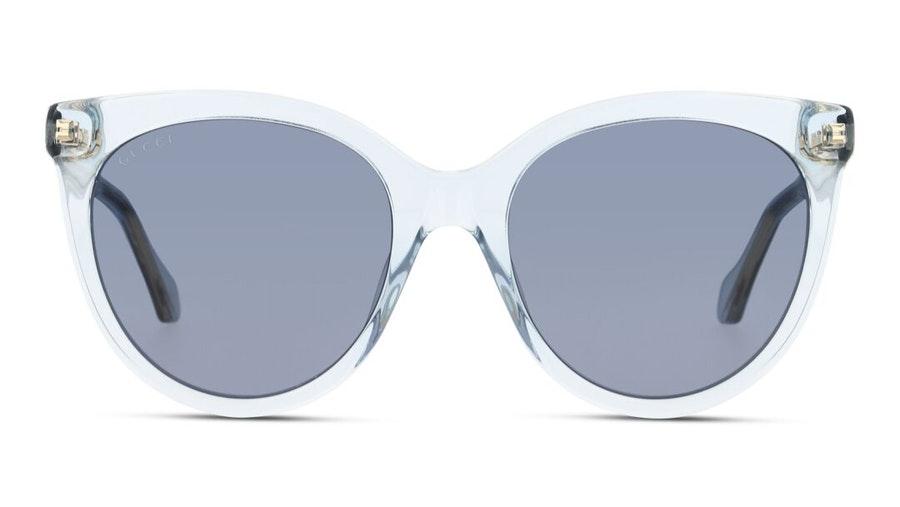 Gucci GG 0565S Women's Sunglasses Blue / Transparent