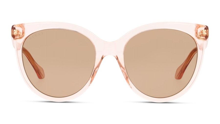 Gucci GG 0565S Women's Sunglasses Brown / Transparent