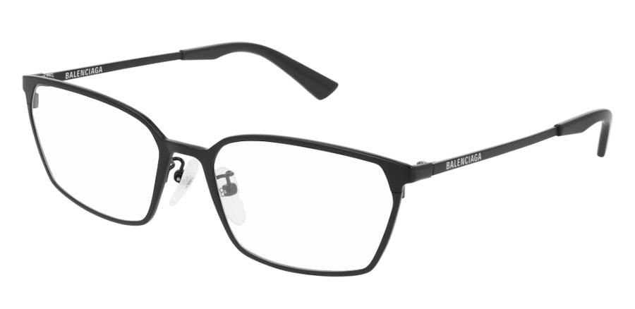 Balenciaga BB 0085O (Large) (001) Glasses Black