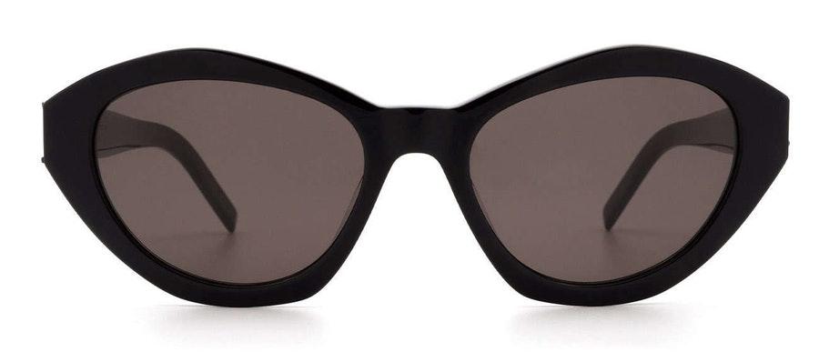 Saint Laurent SL M60 (001) Sunglasses Grey / Black