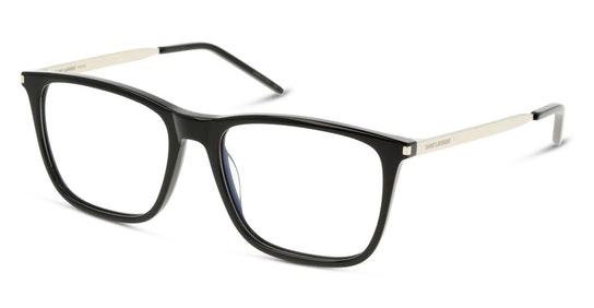 SL 345 Men's Glasses Transparent / Black