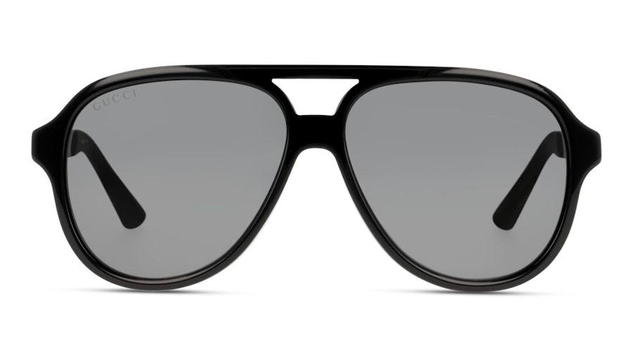 Gucci GG 0688S (001) Sunglasses Grey / Grey