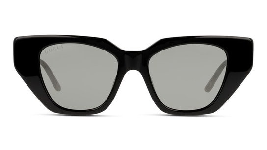 GG 0641S Women's Sunglasses Grey / Black