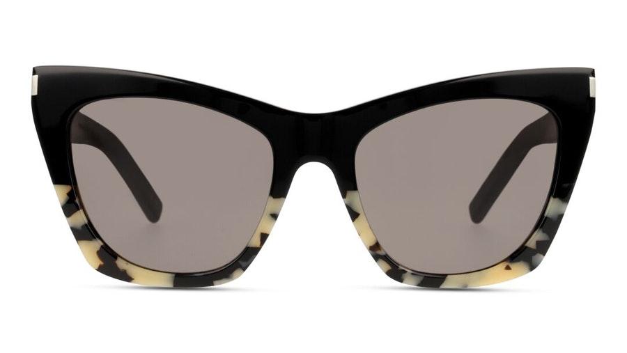 Saint Laurent Kate SL 214 (011) Sunglasses Grey / Havana