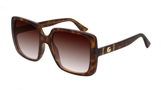 GG 0632S Women's Sunglasses Brown / Tortoise Shell
