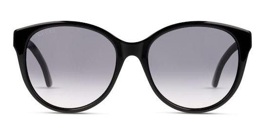 GG 0631S Women's Sunglasses Grey / Black