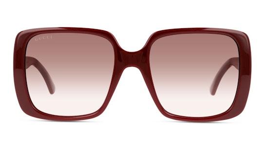 GG 0632S Women's Sunglasses Red / Red