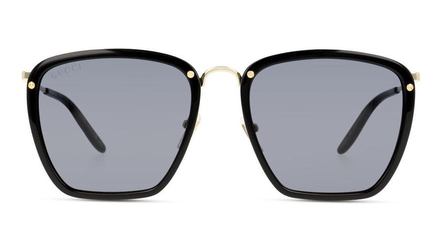 Gucci GG 0673S (001) Sunglasses Grey / Black