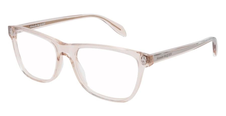 Alexander McQueen AM 0248O Women's Glasses Brown