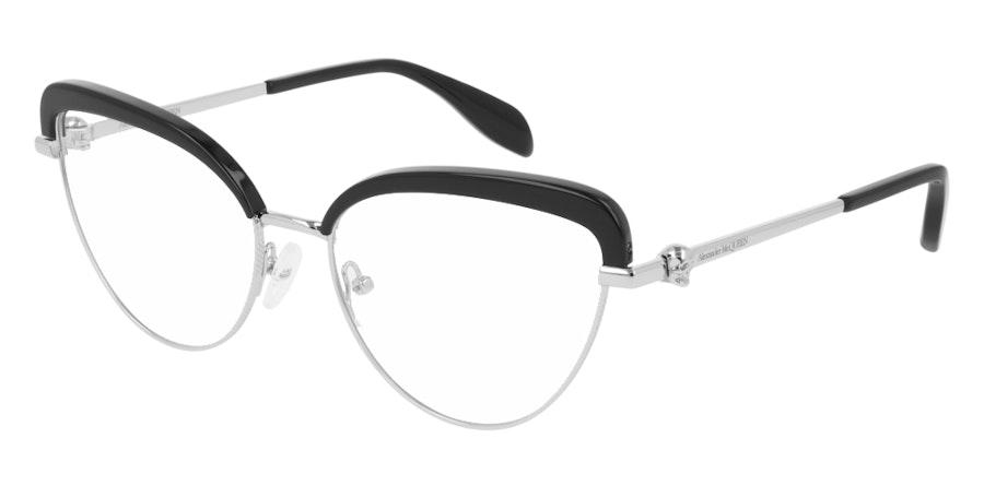 Alexander McQueen AM 0259O Women's Glasses Black