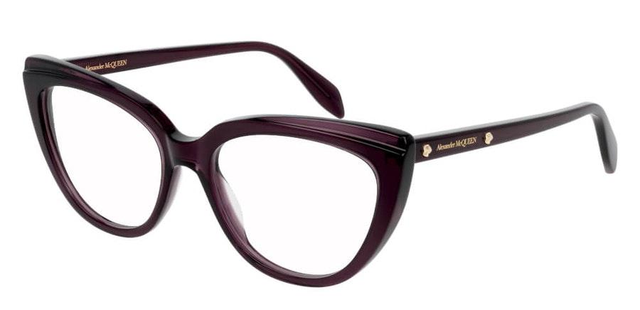 Alexander McQueen AM 0253O (003) Glasses Violet