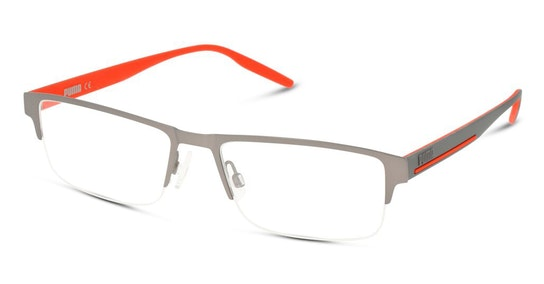 PU 0293O (Large) Men's Glasses Transparent / Silver
