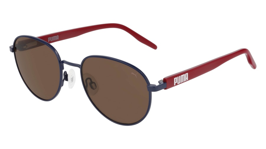 Puma Kids PJ 0041S Children's Sunglasses Brown / Blue