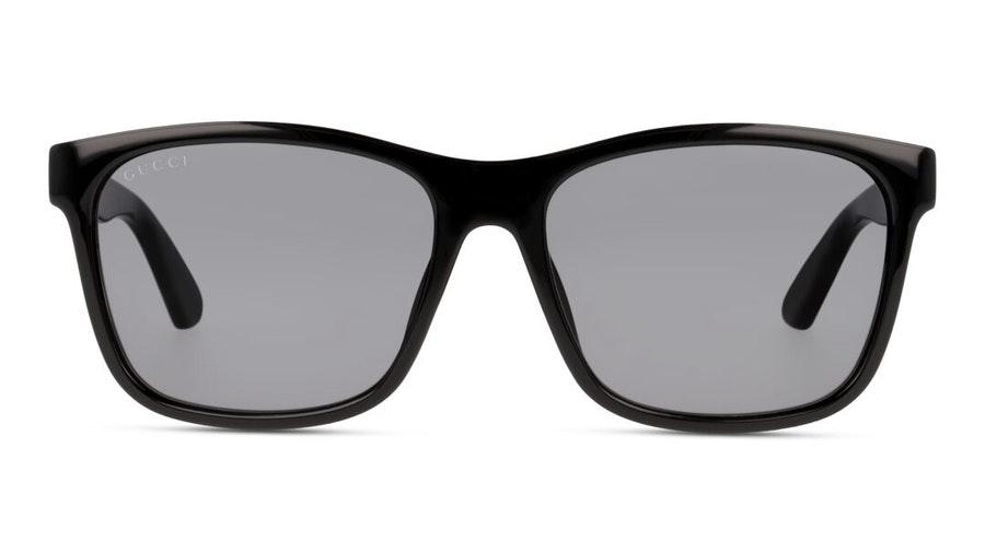 Gucci GG 0746S (001) Sunglasses Grey / Black
