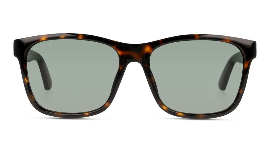 Gucci GG 0746S (003) Sunglasses Green / Havana