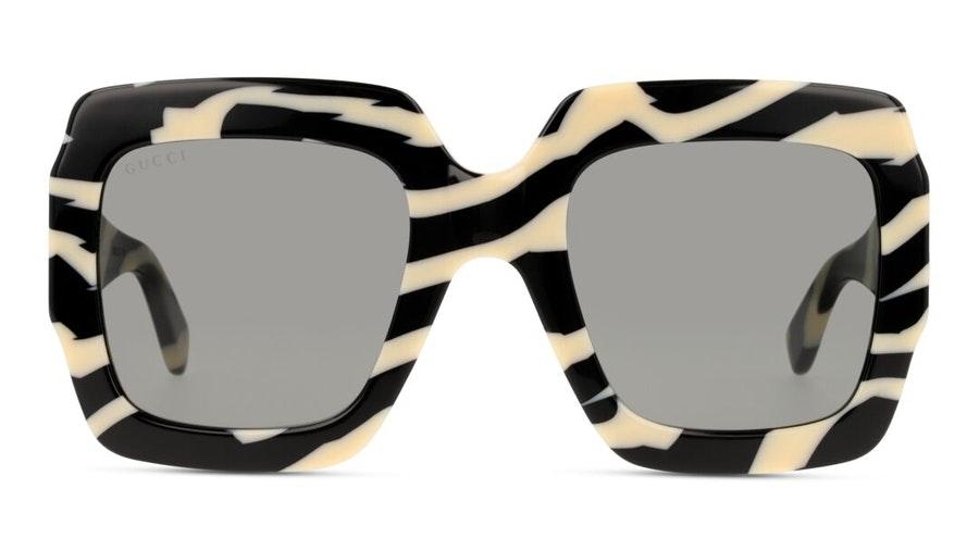 Gucci GG 0178S Women's Sunglasses Grey / Black