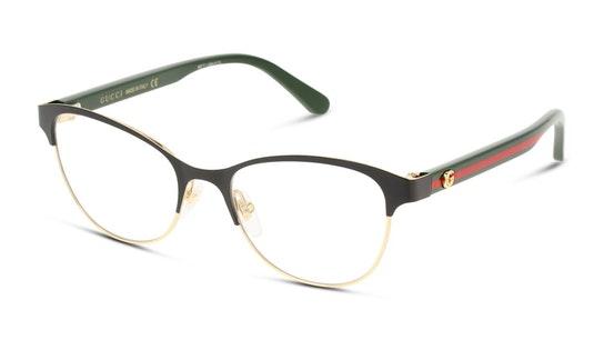 GG 0718O Women's Glasses Transparent / Black