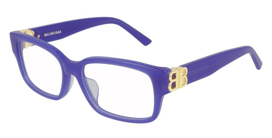 Balenciaga BB 0105O (003) Glasses Violet