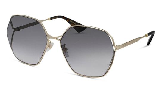 GG 0818SA Women's Sunglasses Grey / Gold