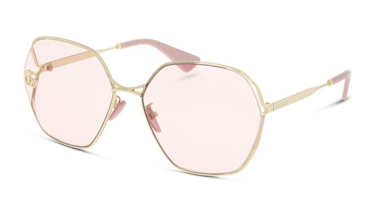 GG 0818SA Women's Sunglasses Pink / Rose Gold