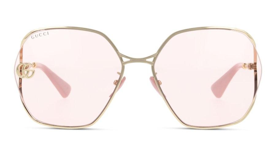 Gucci GG 0818SA Women's Sunglasses Pink / Rose Gold