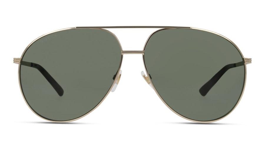 Gucci GG 0832S Unisex Sunglasses Green / Gold