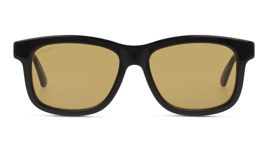 Gucci GG 0824S (006) Sunglasses Brown / Shiny Black