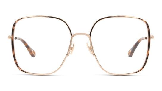 CH 0038O Women's Glasses Transparent / Gold