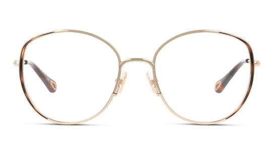 CH 0039O Women's Glasses Transparent / Gold