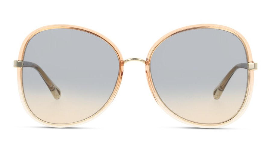 Chloe Franky CH 0030S (004) Sunglasses Blue / Orange